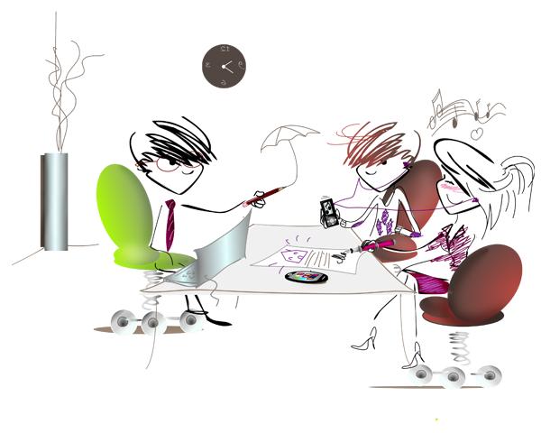 Illustration Com Externe pour Livret Mozaic M6