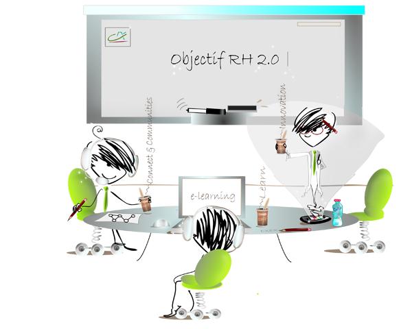 Dessin pour Com Interne Innovation RH Entreprise