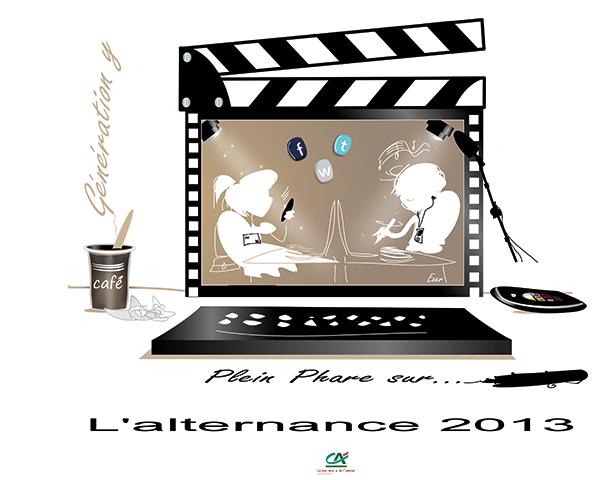 Illustration pour Site de Communauté de Jeunes En Entreprise