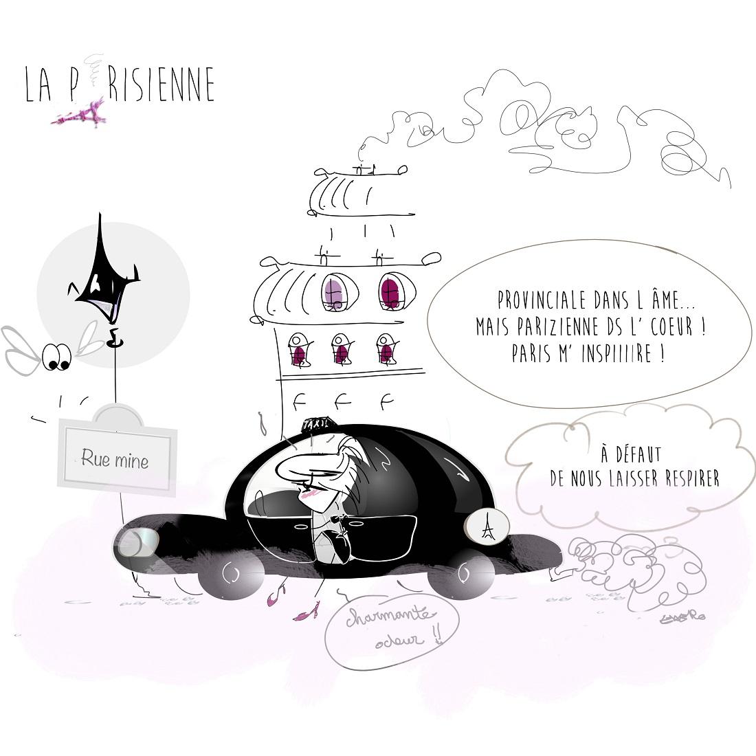 Dessin de la parizienne